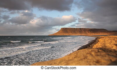 islande, littoral
