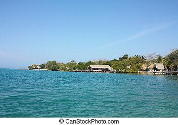 islands., rosario, colombie