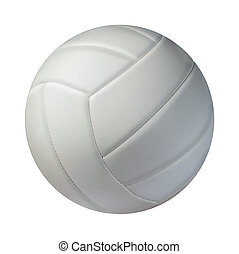 isolé, volley-ball
