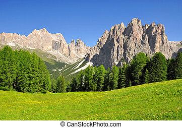 italie, alpes