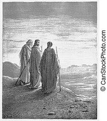 jésus, disciples, rencontre