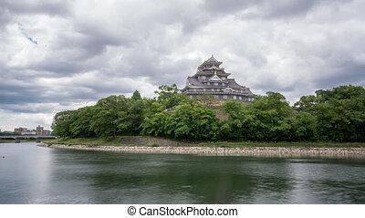 japon, défaillance, caste, okayama, temps