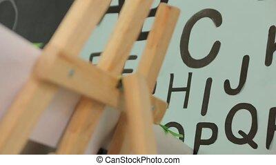 jardin enfants, alphabet