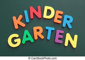 jardin enfants
