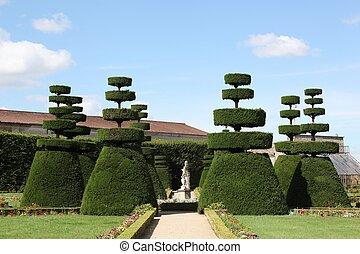 jardin formel, francais