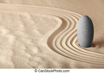 jardin, formulaire, zen, relaxation, symplicity, santé, harmonie, fond, méditation, équilibre