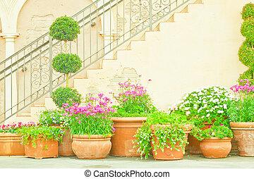 jardin, italien