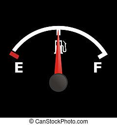 jauge, carburant