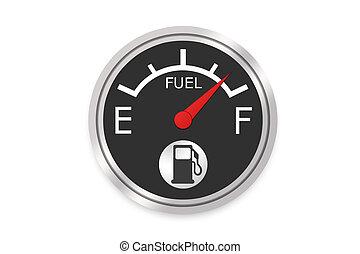 jauge, combustible