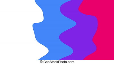 jaune, coloré, bannière, pourpre, intro, dynamique, ou, liquide, résumé, ondulé, rose, formes, minimal, transitions, moderne, futuriste, couleurs, conception, concept, animation, outro