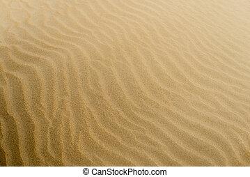 jaune, color., arrière-plan., sable, textured, doux