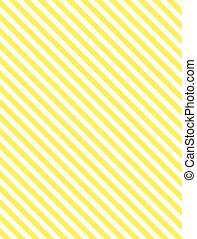jaune, raie diagonale