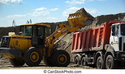jaune, site construction, fonctionnement, chargeur