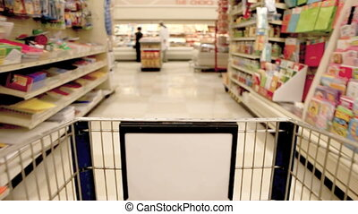 jeûne, magasin épicerie, achats