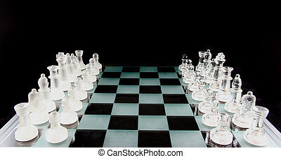 jeu échecs, -