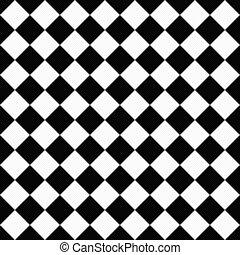 jeude dames, tissu, diagonal, arrière-plan noir, textured, blanc