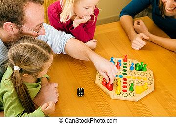 jeux, jouer, famille
