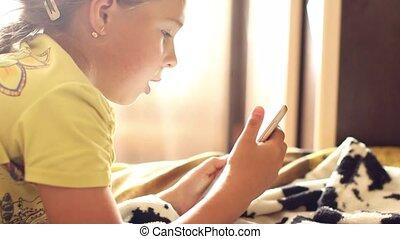 jeux ordinateur, jouer, enfant
