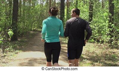 jogging, ensemble