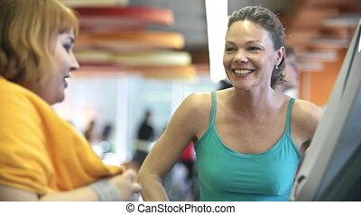 jogging, tapis roulant