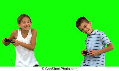 jouer jeux vidéos, frères soeurs