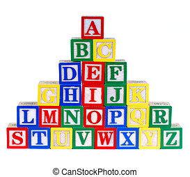 jouet, alphabet