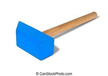 jouet bois, marteau