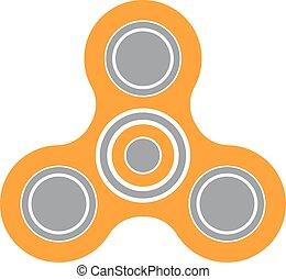 jouet effort, envergure, attention, amélioration, fileur, soulagement, icône, fidget