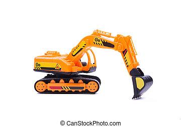 jouet, excavateur