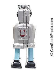 jouet fer-blanc, robot