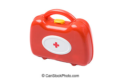 jouet, kit, monde médical