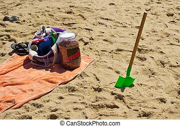 jouet, plage