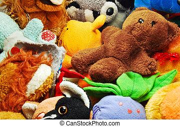 jouets bourrés