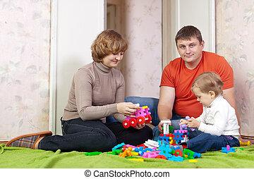 jouets, famille, jeux