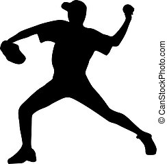 joueur, cruche, base-ball