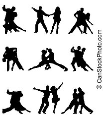 joueurs, tango