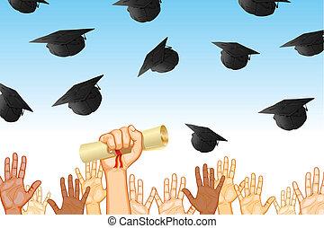jour, remise de diplomes
