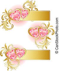 jour valentine, bannière