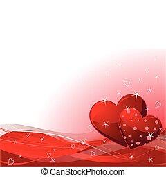 jour valentine, fond