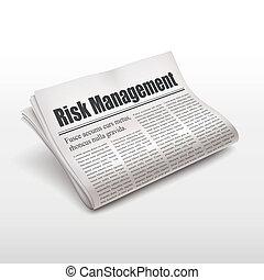 journal, gestion, risque, mots