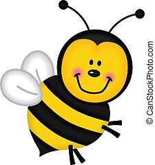 joyeux, abeille