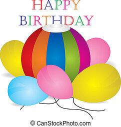 joyeux anniversaire, célébration