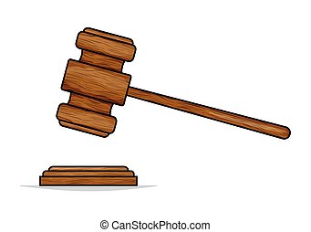 juge, marteau, marteau, enchère, ou