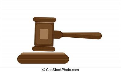 juges, marteau