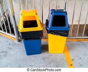 jumeau, déchets ménagers, plastique