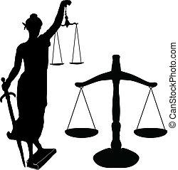 justice, balance, statue