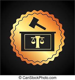 justice, droit & loi, conception