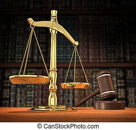 justice, servi