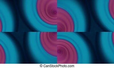 kaléidoscope, 4k, en mouvement, réaliste, arrière-plan.