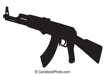 kalashnikov, fusil, ak-47